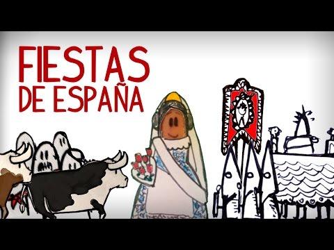 Las fiestas más populares de España, cultura española