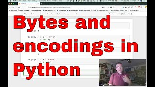 Bytes and encodings in Python