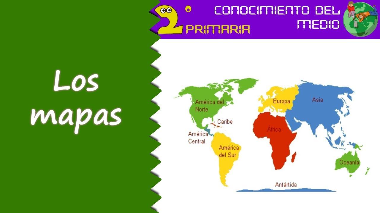 Cono, 2º Primaria. Tema 9. Los mapas