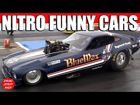 2011 March Meet Funny Cars Drag Racing Video