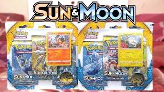 Togedemaru  - (Pokémon) - Opening Both Litten & Togedemaru Pokemon Sun & Moon 3 Pack Blisters Of Pokemon Cards!!!