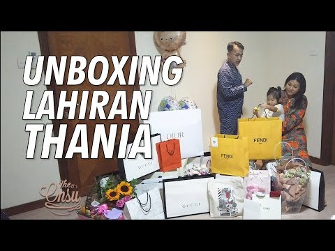 The Onsu Family - UNBOXING LAHIRAN THANIA