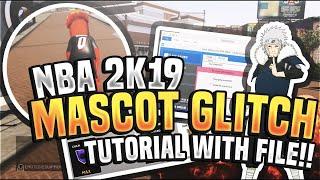 nba 2k19 mascot glitch badgeplug - Kênh video giải trí dành cho