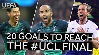 SON, MOURA, KANE: All TOTTENHAM goals to reach the #UCL final!