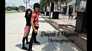 Zaeden - Tempted To Touch feat. Rupee | Deepak & Priyanka Dance Choreography