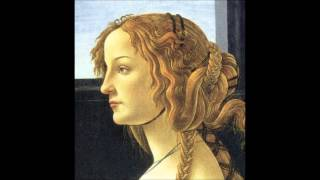 Women in the paintings of Botticelli