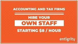Entigrity Offshore Staffing for Accountants, CPA, Tax Firms
