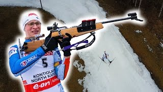 MY FIRST BIATHLON RACE! How hard can this sport be??