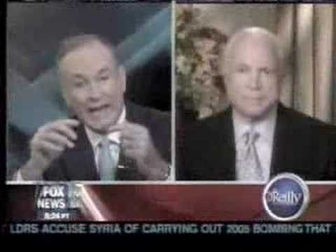 Go Obama, MCCAIN and Bill 0′Reilly  are Racists