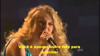 Taylor Swift - Picture to Burn Live 2007 legendado