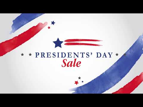 Presidents Day Sale - 2019
