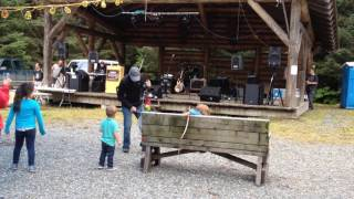 Stumpf Fiddle in Alaska ---   Tom Lenny playing at Fair Weather Days In Yakutat, Alaska