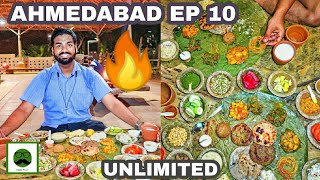 CRAZY GUJJU FOOD at Vishala🔥🔥🔥 | authentic VEG Indian Food with Veggiepaaji  | Ahmedabad EP 10