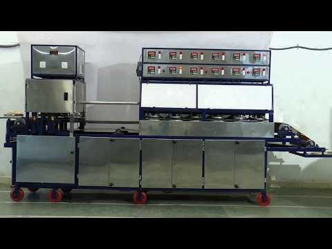 KH-1200 Double-Line Khakhra Making Machines