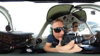 Flying around La Palma Canary Islands