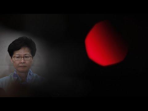 """林鄭批示威者""""極暴力"""" 將追究違法行為 20190702 公視早安新聞"""