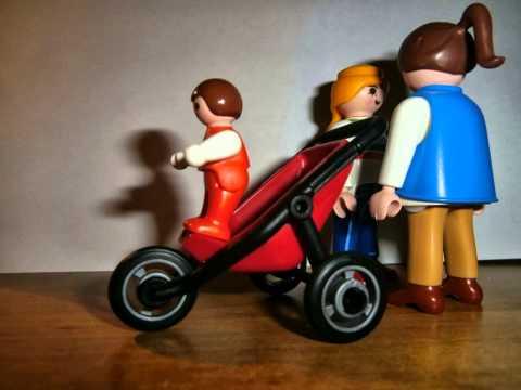 Maman Poussette Et Bébé Playmobil 87016