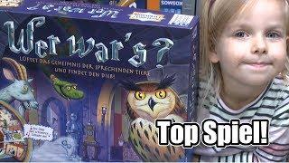 Wer war's? (Ravensburger) - ab 6 Jahre - Top Spiel und Kinderspiel des Jahres 2008