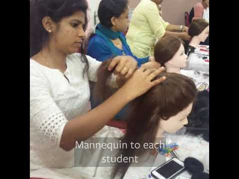 Internationally Certified Hairstyling Course at Face Palette Academy ...