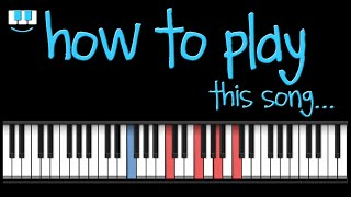 PianistAko tutorial THE ONE WHO WON MY HEART piano christian bautista