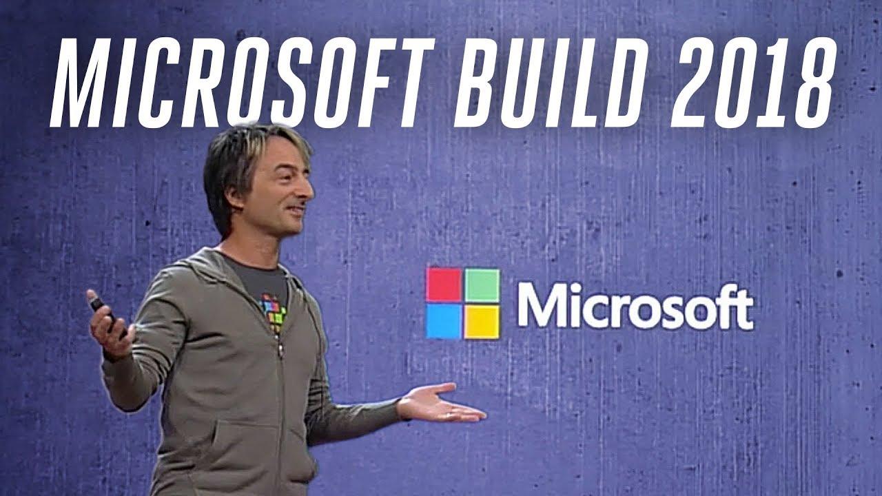 Microsoft Build 2018 keynote in under 5 minutes thumbnail