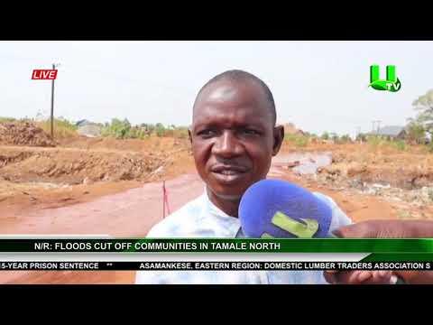 N/R: Floods Cut Off Communities In Tamale North