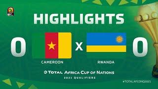 Qualif. CAN 2021   Groupe F : Cameroun 0-0 Rwanda