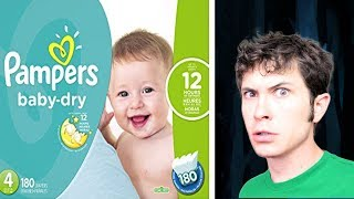 LOL... this Pampers Website Ad...