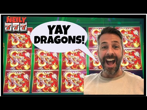DRAGONS PAY A TON! I MADE THE RIGHT PICK ON ENDLESS TREASURES SLOT MACHINE! TIME TO CASH ME OUT!