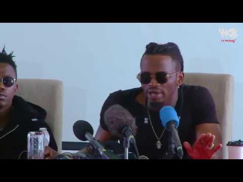Diamond Platnumz- PRESS CONFERENCE NAIROBI ( CLIP 4)