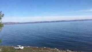 シベリア鉄道からのバイカル湖