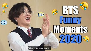 BTS Funny Moments (2020 COMPILATION)