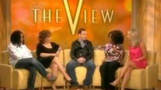 Jonny Lee Miller on The View 31st jan 2008 - dooclip.me