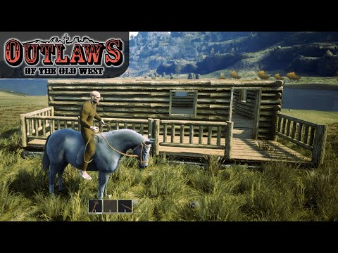 HOW TO TAME A HORSE EASY & FAST | Outlaws of the Old West | Gameplay | S01E02
