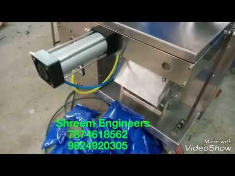 Automatic Single Pneumatic Pouch Packing Machine
