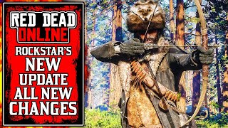 Rockstar UPDATED Red Dead Online Today.. The New Red Dead Online Update Changes (RDR2)