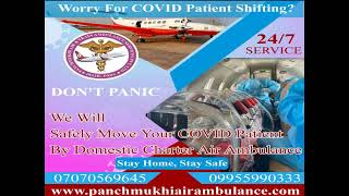 Advanced and Trusted Charter Air Ambulance in Raipur
