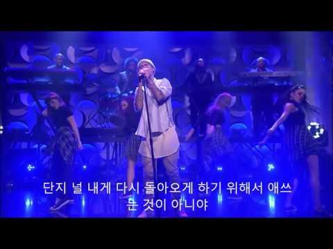[한글자막] Justin Bieber(저스틴비버) Sorry  - the tonight show(Jimmy fallon)