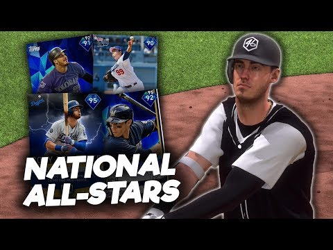 NATIONAL LEAGUE ALL-STARS TEAM BUILD! MLB The Show 19 Diamond Dynasty