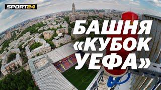 Стадион ЦСКА с высоты птичьего полета. Залезаем на главную башню ВЭБ-Арены
