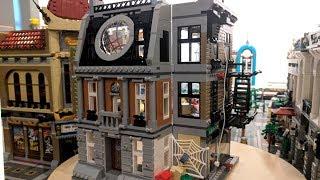 LEGO Sanctum Sanctorum - Доктор Стрэндж, Человек-паук, Железный Человек