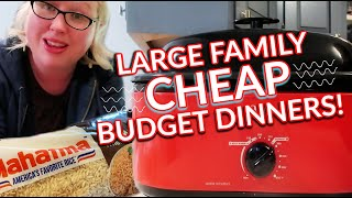 👩🍳QUARANTINE COOKING FRUGAL MEALS On A Budget For Large Families | CHEAP Budget Dinners!!