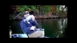 Southern crappie rods fishing brush with 9ft rod