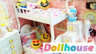 DIY | Miniature Dollhouse Bedroom Angel Dream Preview - simplekidscrafts