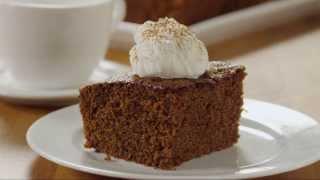 How To Make Old Fashioned Gingerbread | Christmas Recipes | Allrecipes.com