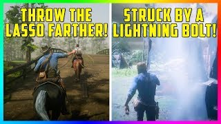 15 Things You DIDN'T Know You Could Do In Red Dead Redemption 2 - Tips, Tricks & Helpful Features!