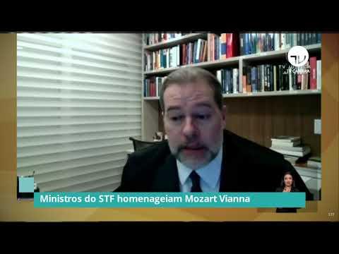 Ministros do STF homenageiam Mozart Vianna – 09/06/21
