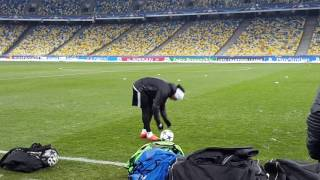Рикарду Куарежма готовится к игре с Динамо