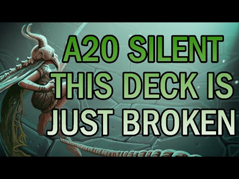 This deck is so... STRONG. | Ascension 20 Silent Run | Slay the Spire