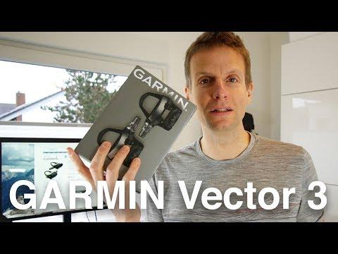 Die neue Garmin Vector 3 Powermeter Pedale: Auspacken, Einrichten, Fahren.  (deutsch)